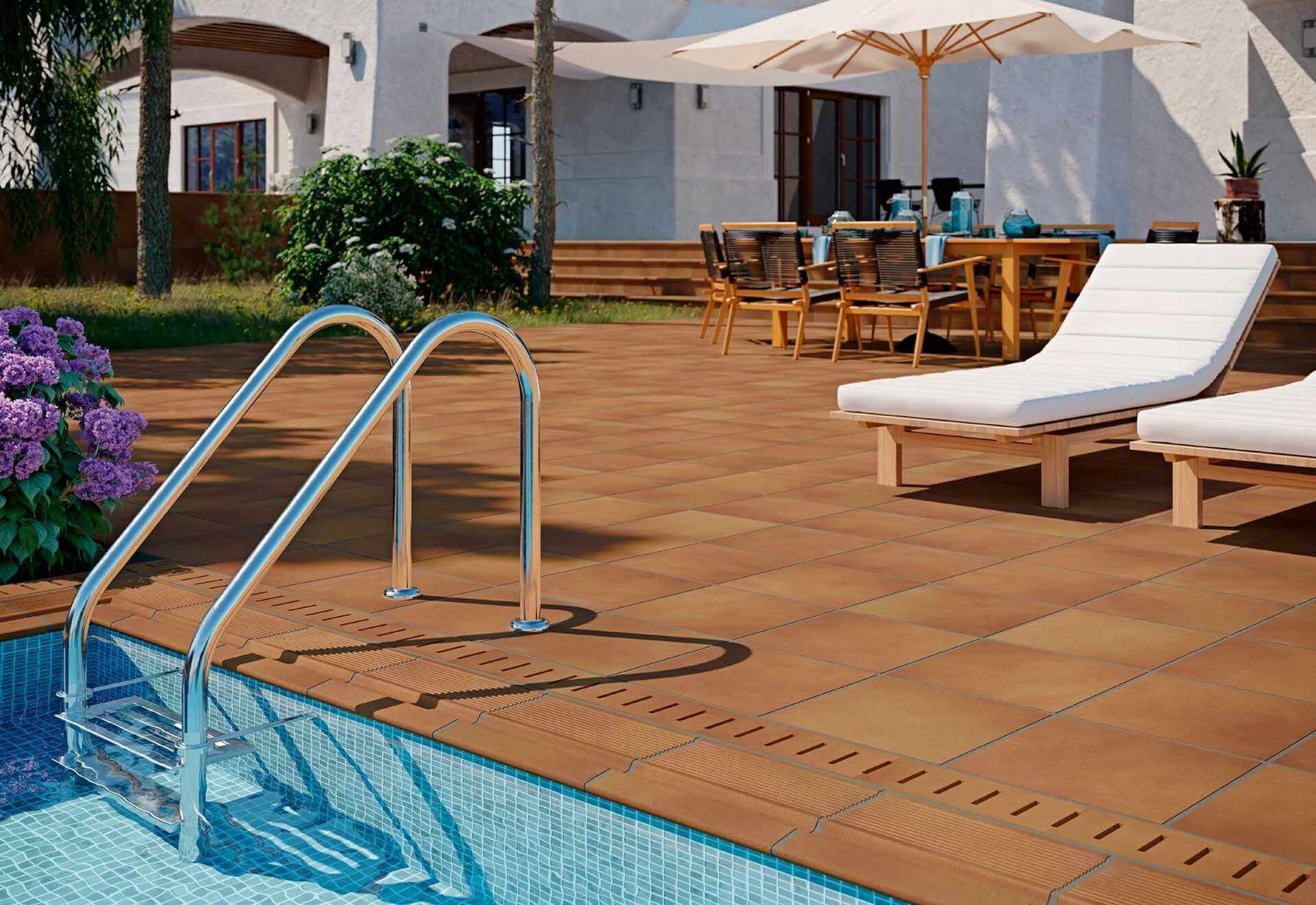 Teide series - Swimming Pool Tiles: How to Choose the Right Ones - EXT Ceramic