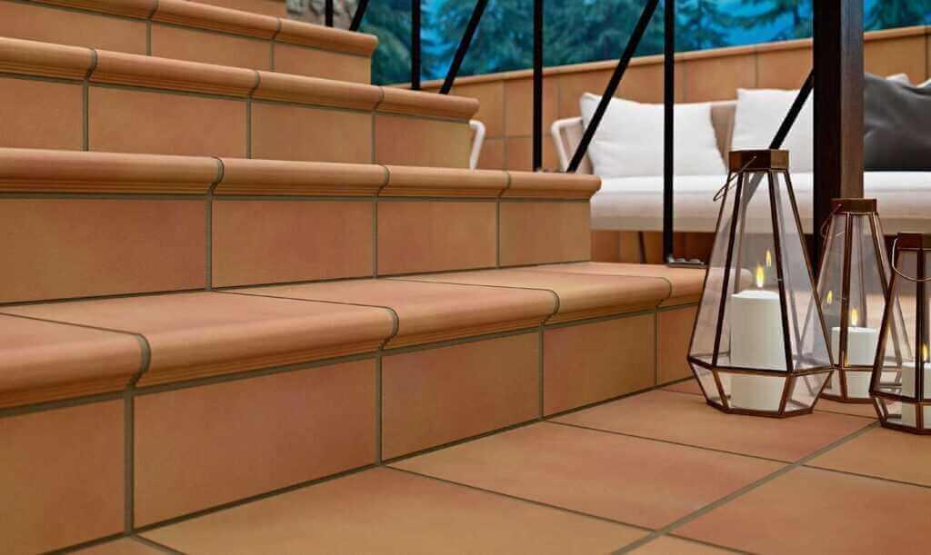 Peldaños escalera exterior - Serie Teide